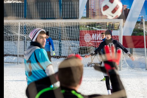 Состоялся ежемесячный турнир по мини-футболу среди дворовых команд. Фоторепортаж