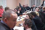 Состоялось заседание Совета депутатов, с которого вновь выгнали представителя «Видное 24». Видео