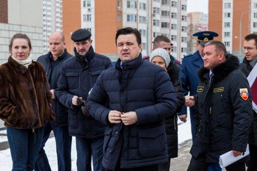 Город Видное с рабочим визитом посетил губернатор Подмосковья Андрей Воробьев. Фото- и видеорепортаж
