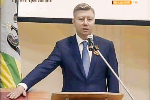 Олег Хромов официально вступил в должность главы Ленинского района