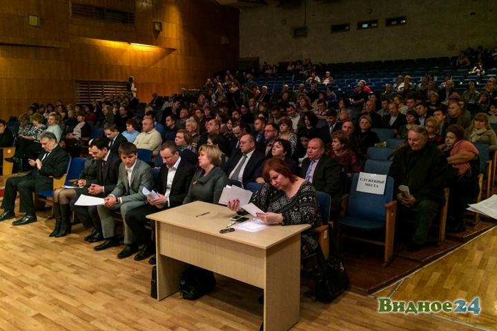 Состоялась первая встреча-семинар главы Ленинского района с населением. Видеозапись фото 8