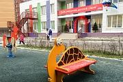 В строящемся ЖК «Зеленые Аллеи» открылся детский сад «Яблонька»