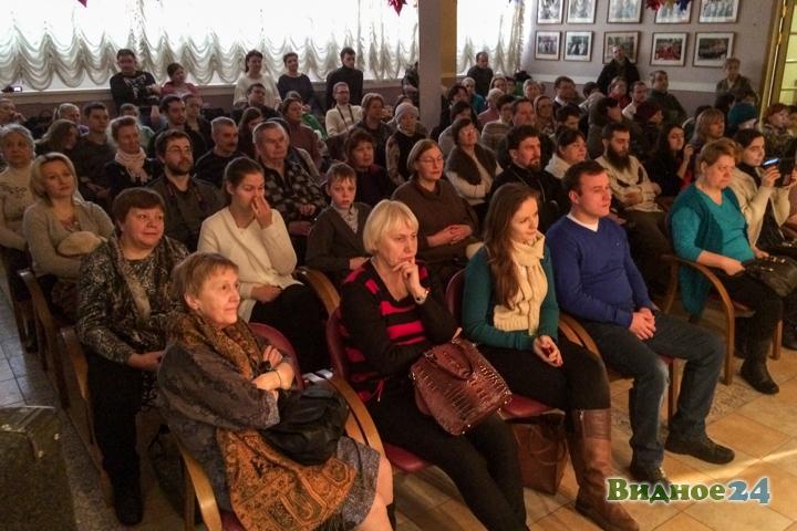 В центральной библиотеке состоялся концерт музыкальной группы Видновского благочиния. Видеозапись фото 5