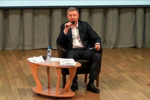Состоялась вторая встреча-семинар главы Ленинского района Олега Хромова. Видеозапись