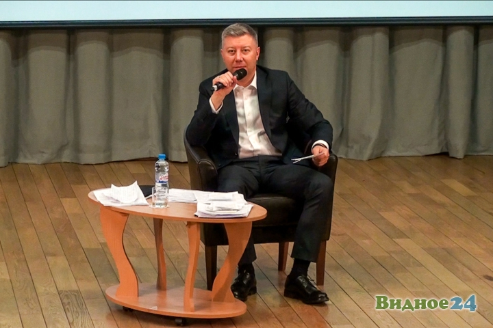 Состоялась вторая встреча-семинар главы Ленинского района Олега Хромова. Видеозапись фото 7