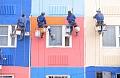 Жительница многоэтажки в Новодрожжино перерезала веревку с промышленным альпинистом