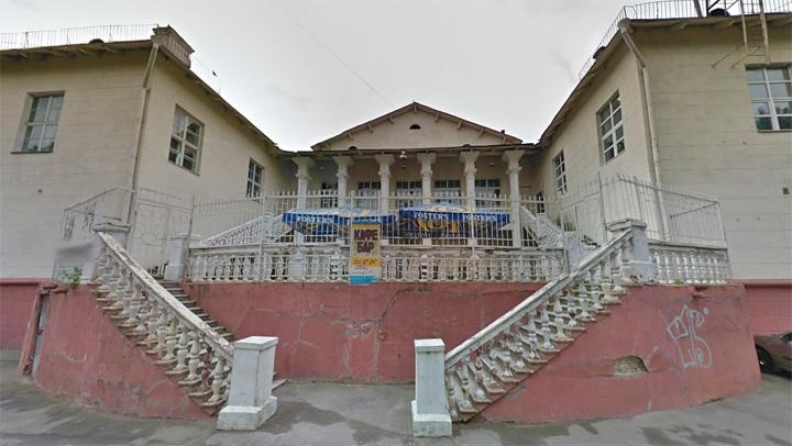 Тыльная часть Дома культуры до реконструкции. 2012 г.