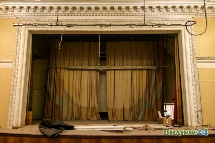 Без проекта реставрации началась реконструкция Дома культуры города Видное. Фоторепортаж фото 54