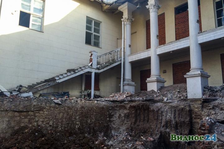 Без проекта реставрации началась реконструкция Дома культуры города Видное. Фоторепортаж фото 39