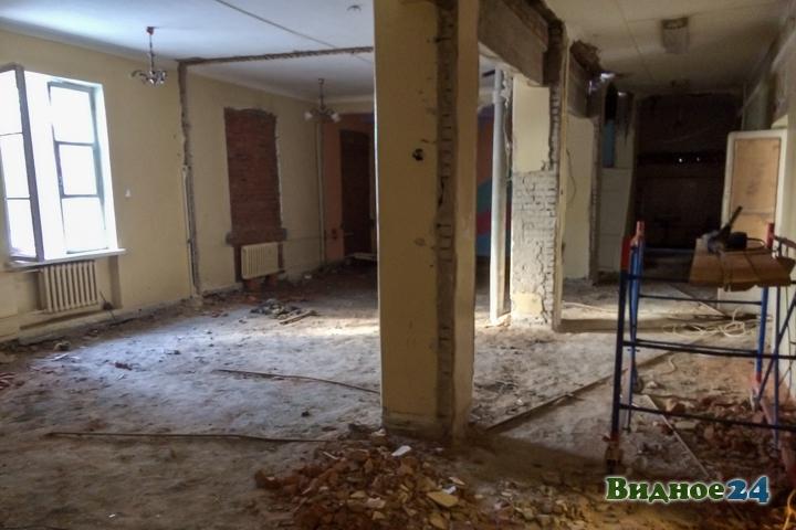 Без проекта реставрации началась реконструкция Дома культуры города Видное. Фоторепортаж фото 58