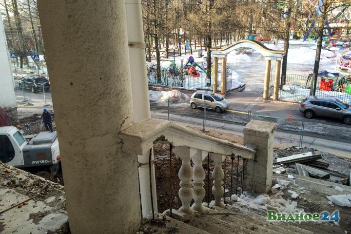 Без проекта реставрации началась реконструкция Дома культуры города Видное. Фоторепортаж фото 44
