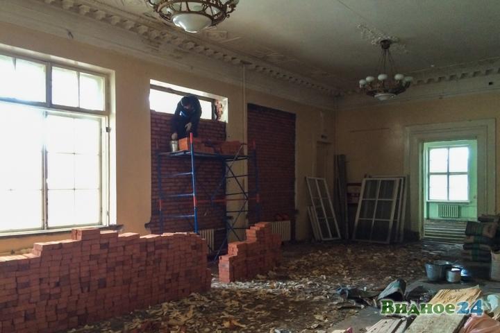 Без проекта реставрации началась реконструкция Дома культуры города Видное. Фоторепортаж фото 17