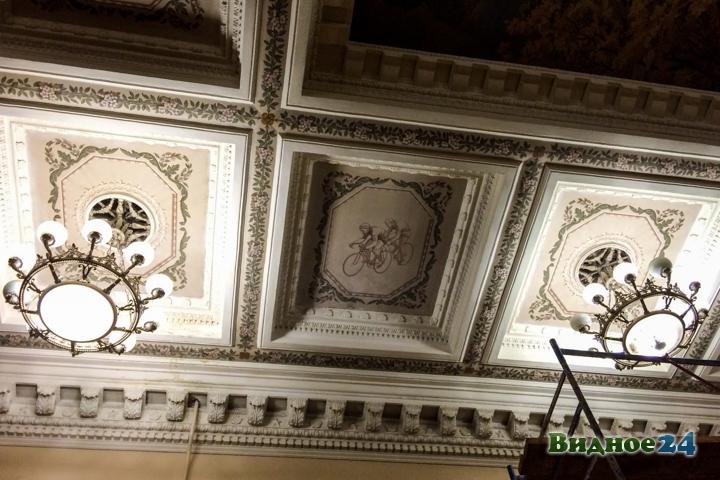 Без проекта реставрации началась реконструкция Дома культуры города Видное. Фоторепортаж фото 52