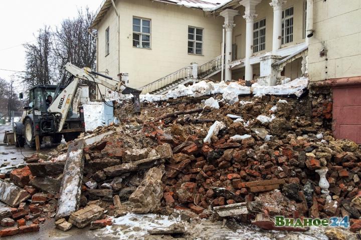 Без проекта реставрации началась реконструкция Дома культуры города Видное. Фоторепортаж фото 3