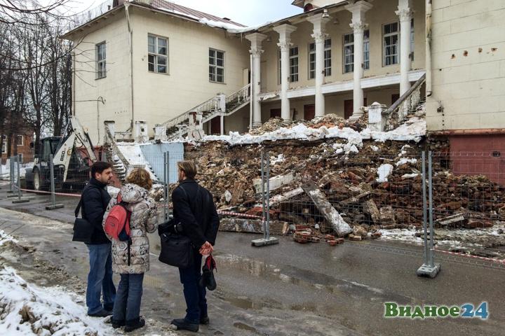 Без проекта реставрации началась реконструкция Дома культуры города Видное. Фоторепортаж фото 14