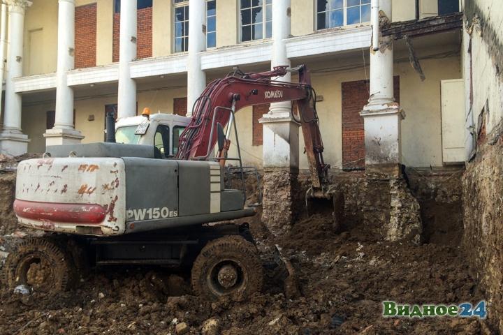 Без проекта реставрации началась реконструкция Дома культуры города Видное. Фоторепортаж фото 38