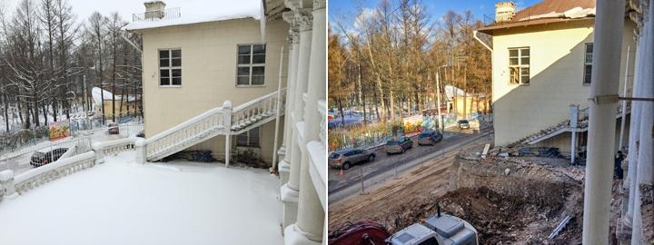 Без проекта реставрации началась реконструкция Дома культуры города Видное. Фоторепортаж фото 12