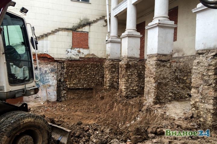 Без проекта реставрации началась реконструкция Дома культуры города Видное. Фоторепортаж фото 61