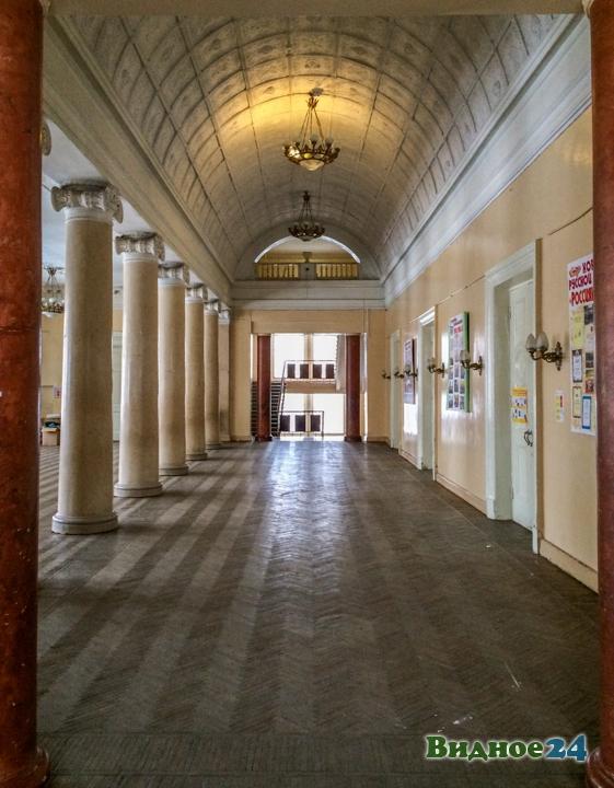 Без проекта реставрации началась реконструкция Дома культуры города Видное. Фоторепортаж фото 9