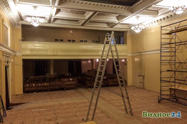 Без проекта реставрации началась реконструкция Дома культуры города Видное. Фоторепортаж фото 49