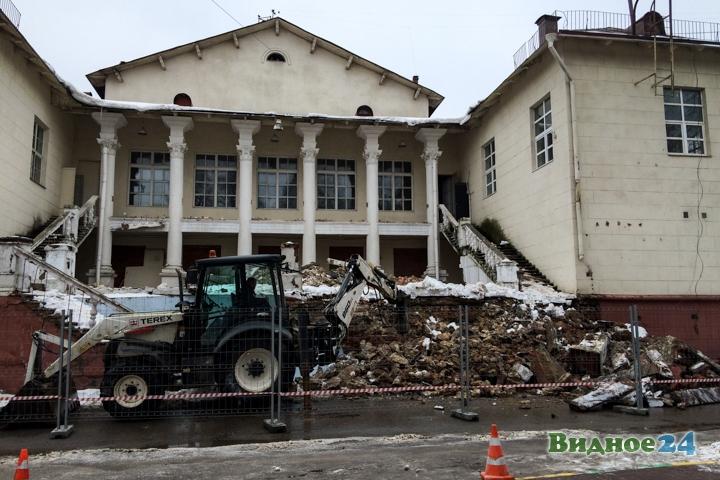 Без проекта реставрации началась реконструкция Дома культуры города Видное. Фоторепортаж фото 37