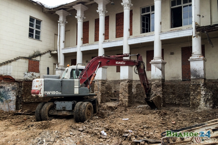 Без проекта реставрации началась реконструкция Дома культуры города Видное. Фоторепортаж фото 59