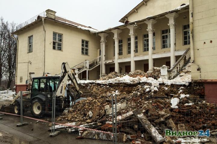 Без проекта реставрации началась реконструкция Дома культуры города Видное. Фоторепортаж фото 36