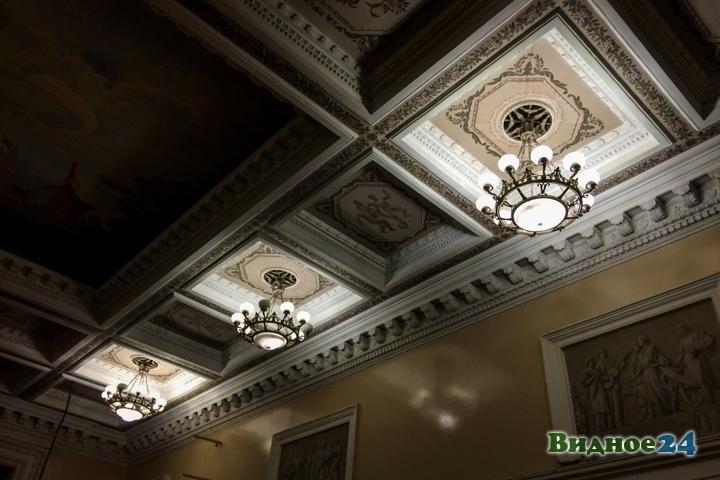 Без проекта реставрации началась реконструкция Дома культуры города Видное. Фоторепортаж фото 8