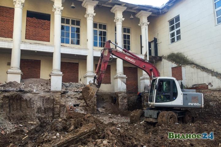 Без проекта реставрации началась реконструкция Дома культуры города Видное. Фоторепортаж фото 40