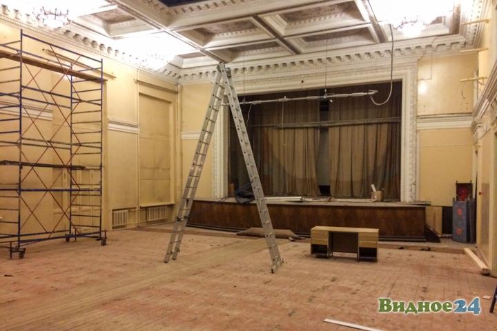 Без проекта реставрации началась реконструкция Дома культуры города Видное. Фоторепортаж фото 48