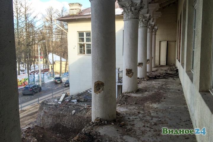 Без проекта реставрации началась реконструкция Дома культуры города Видное. Фоторепортаж фото 42