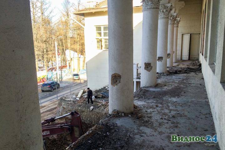 Без проекта реставрации началась реконструкция Дома культуры города Видное. Фоторепортаж фото 46