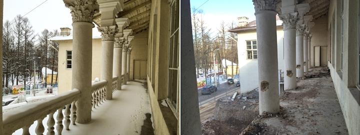 Без проекта реставрации началась реконструкция Дома культуры города Видное. Фоторепортаж фото 5