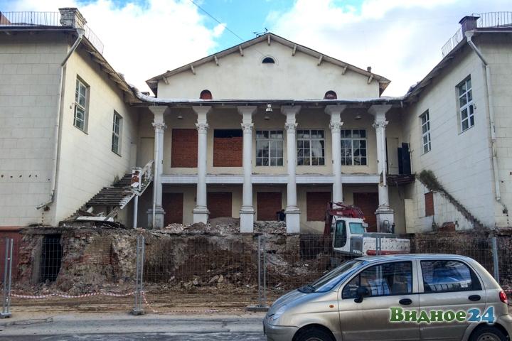 Без проекта реставрации началась реконструкция Дома культуры города Видное. Фоторепортаж фото 41