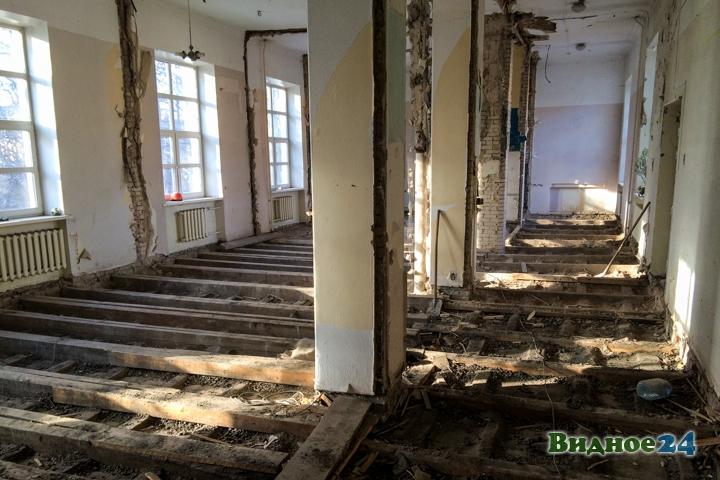 Без проекта реставрации началась реконструкция Дома культуры города Видное. Фоторепортаж фото 57