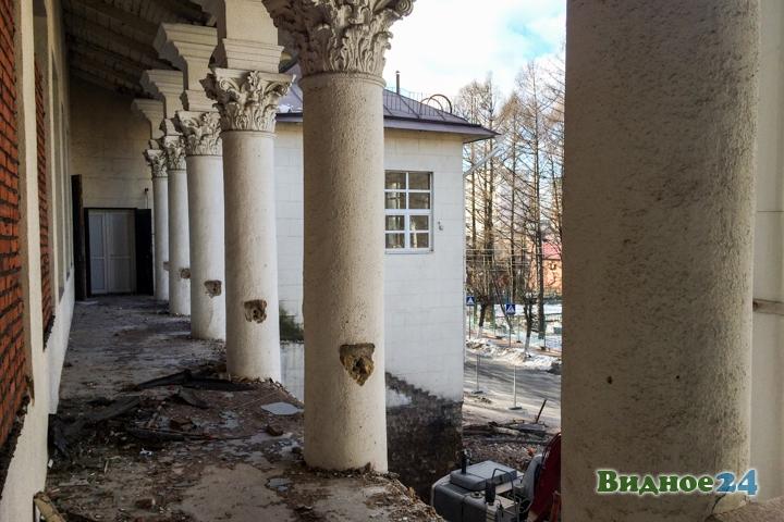 Без проекта реставрации началась реконструкция Дома культуры города Видное. Фоторепортаж фото 43
