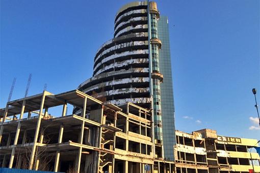 Заброшенную башню-долгострой «Счастливая 7Я» при въезде в Видное будут реконструировать