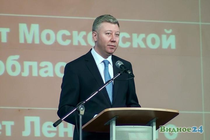 Состоялся первый годовой отчет новой власти Ленинского района. Видео и фото фото 17