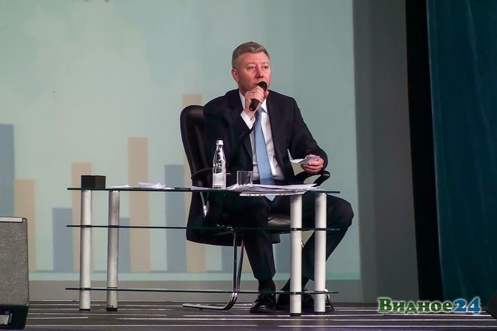 Состоялся первый годовой отчет новой власти Ленинского района. Видео и фото фото 6