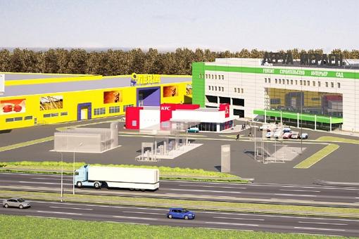В конце 2016 года в Видном откроется торговый центр «Видное Парк»