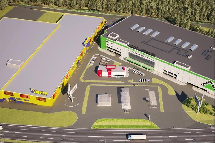 В конце 2016 года в Видном откроется торговый центр «Видное Парк» фото 2
