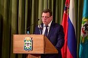 Состоялся отчет администрации г.п. Видное по итогам работы за 2015 год. Видеозапись