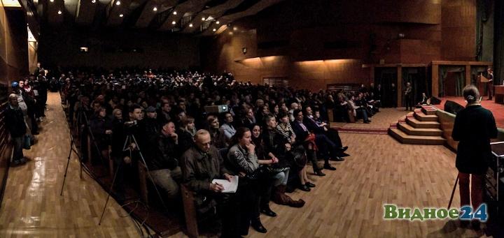 Состоялись громкие публичные слушания по точечной застройке центра города Видное. Видеозапись фото 4