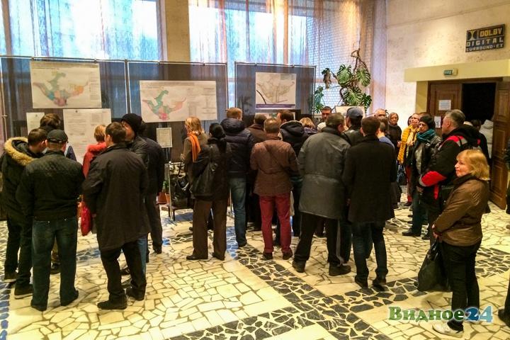 Состоялись громкие публичные слушания по точечной застройке центра города Видное. Видеозапись фото 2