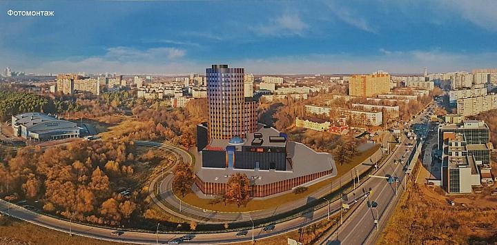 Заброшенную башню на въезде в Видное достроят в течение 2 лет фото 4