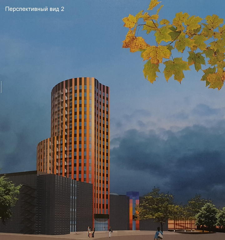 Заброшенную башню на въезде в Видное достроят в течение 2 лет фото 3