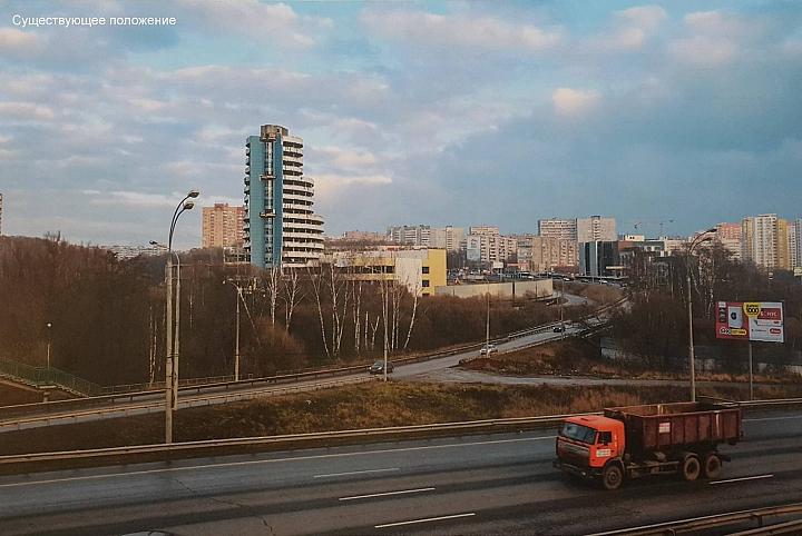 Заброшенную башню на въезде в Видное достроят в течение 2 лет фото 6