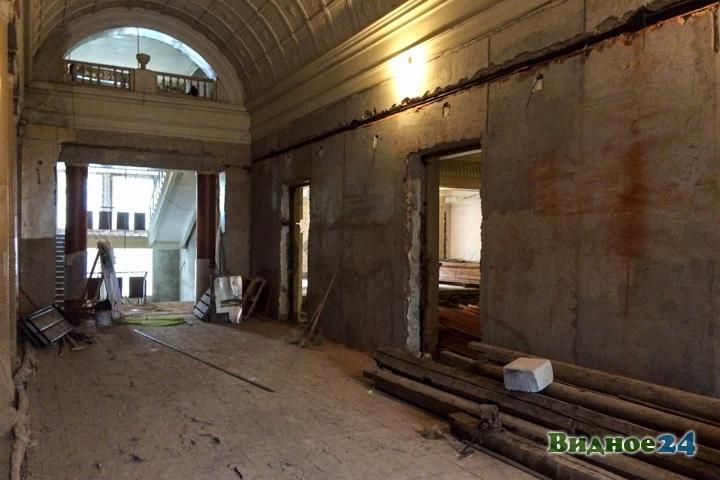 Реконструкция Дома культуры г. Видное: 150 дней до сдачи. Фоторепортаж фото 16