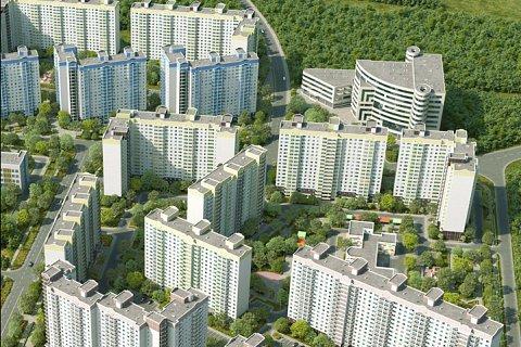 В 6-м микрорайоне города Видное сдали в эксплуатацию еще 4 многоквартирных дома