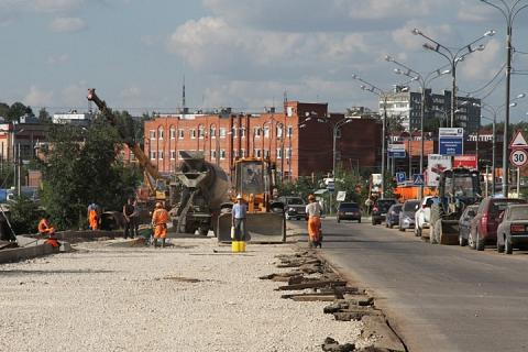 Расширение Березовой улицы. 2011 год